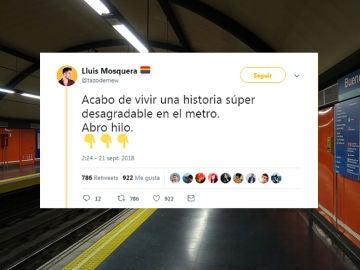 Historia en el metro de Madrid