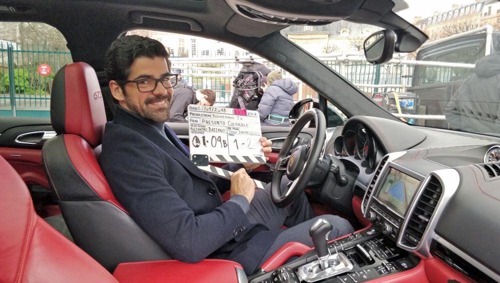 La divertida anécdota de Miguel Ángel Muñoz mientras conducía el coche en el rodaje de 'Presunto Culpable' en París