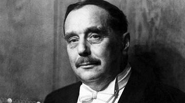 El escritor H. G. Wells