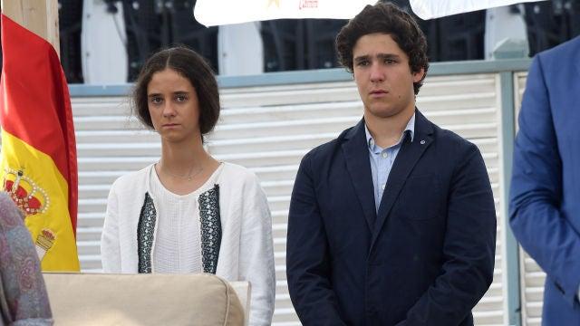 Victoria Federica y Felipe Juan Froilán