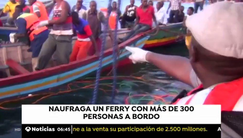 Al menos 94 muertos en el naufragio de un ferry con 00 personas en Tanzania