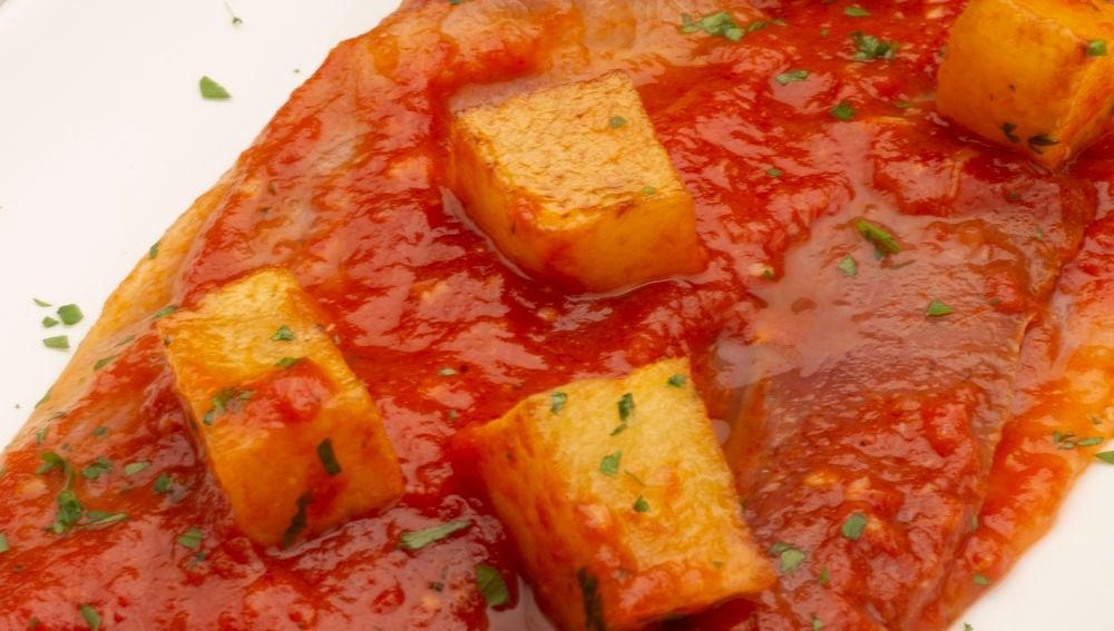 Magras con tomate.