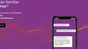 Imagen de la aplicación 'Purple'