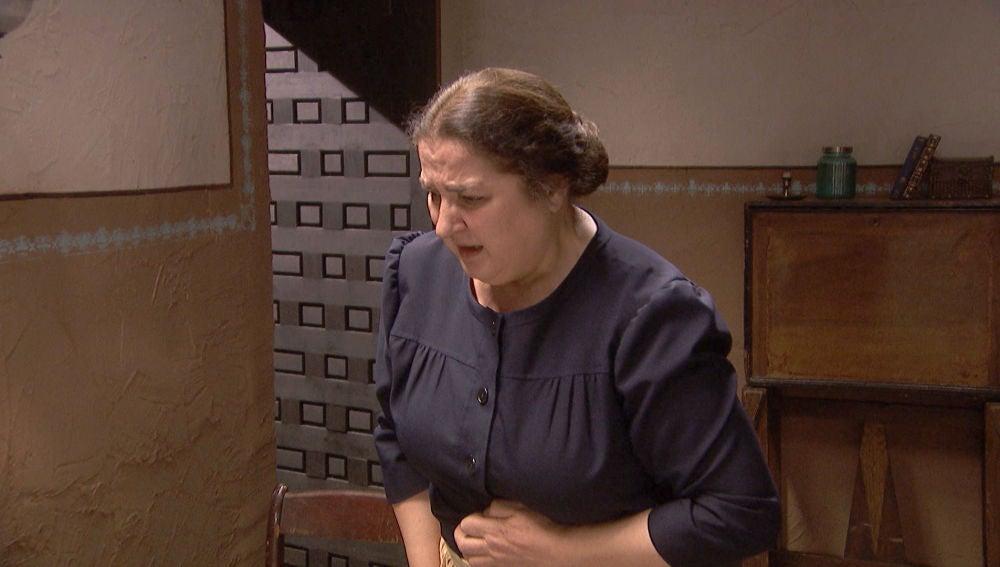 Consuelo, el shock al encontrarse un muerto en 'La posada de María'
