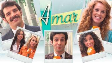 Los protagonistas de 'Amar es para siempre' se 'mojan' ante la pregunta clave de la serie