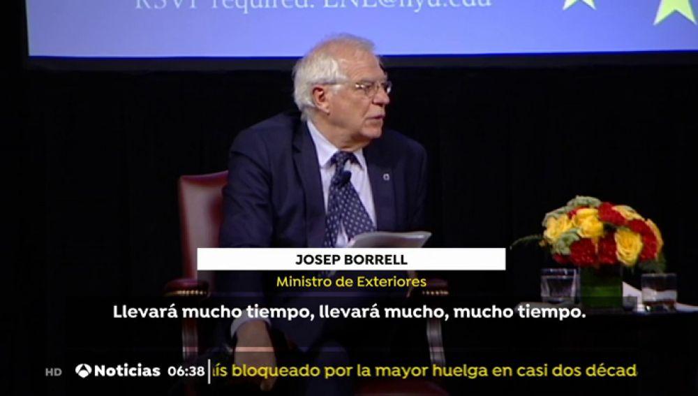 El ministro español de Asuntos Exteriores, Josep Borrell