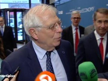 """Borrell desmiente haber dicho que Trump le propuso la construcción de un muro en el Sáhara: """"Nunca ha habido una propuesta en este sentido"""""""
