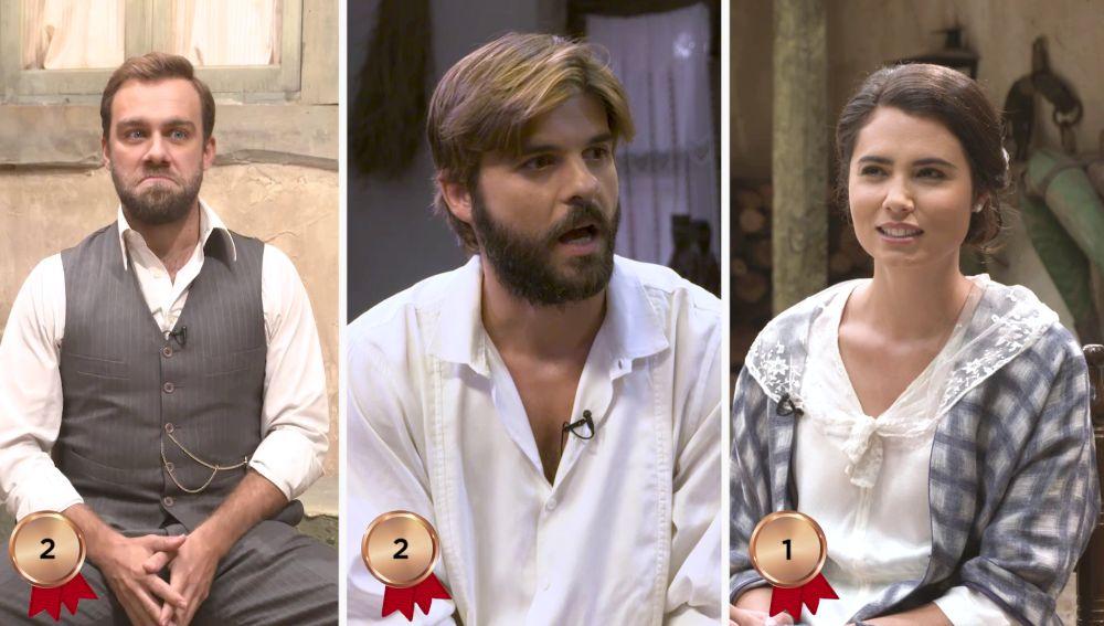 Carlos, Jordi y Loreto se enfrentan al test definitivo sobre Puente Viejo, ¿habrá aprobado?