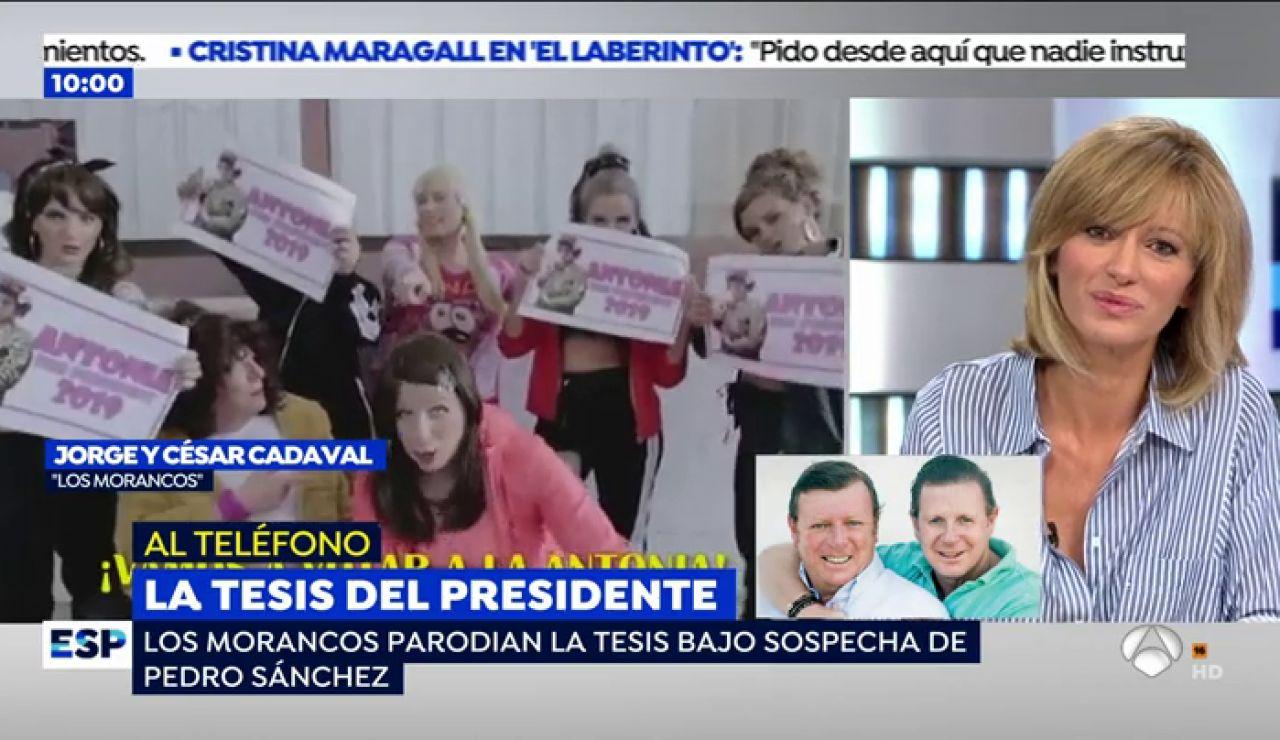 """'Los Morancos', sobre su 'Malamente' que critica la tesis de Pedro Sánchez: """"Hemos querido dar caña"""""""