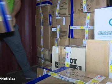 Voluntarios envían 70.000 kilos de productos de primera necesidad a Venezuela al mes