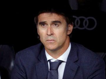 Lopetegui, en el banquillo del Real Madrid