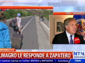 """Luis Almagro aconseja a Zapatero que """"no sea imbécil"""" tras acusarle de hacer favores a dictadura venezolana"""