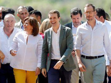 Pablo Casado, Isabel Bonig, Javier Maroto, y Esteban González Pons