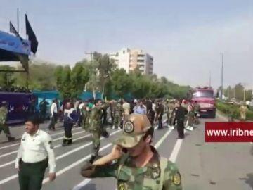 Varios muertos y heridos en un ataque contra un desfile militar en el suroeste de Irán