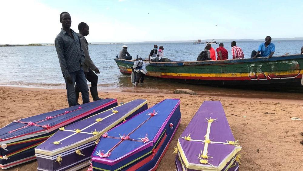 Naufragio en Tanzania
