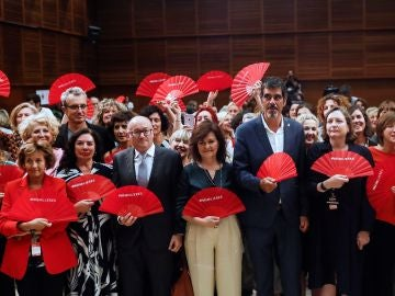Firma de la Carta por la Paridad y la Igualdad en el Cine por parte del Festival Internacional de Cine de San Sebastián.