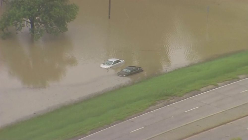 Las fuertes lluvias causan estragos en varias ciudades de Texas