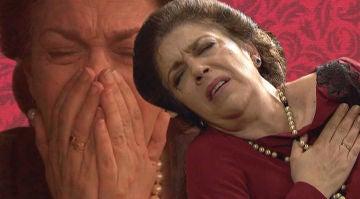 Las imágenes más 'desvergonzadas' del funeral de Francisca Montenegro que no se vieron en televisión