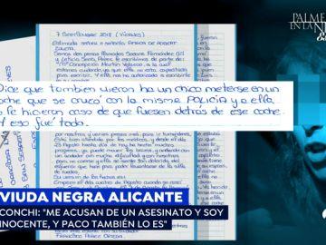 La viuda negra de Alicante usa a sus cuidadoras en prisión para enviar una enigmática carta a 'Espejo Público'