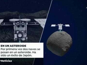 Un rover explora por primera vez la superficie de un asteoride