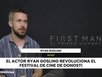 """Ryan Gosling emula a Armstrong en la Luna y rechaza las críticas de Trump: """"La película habla por sí sola"""""""