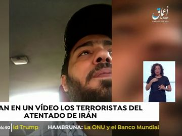 Los autores del atentado en Irán se grabaron minutos antes en un vídeo