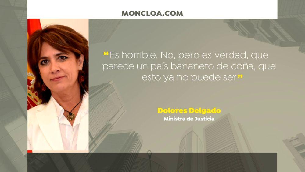 """Delgado atribuye los audios con Villajero a su estrategia procesal de """"atacar al Estado"""""""