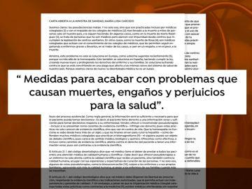 """Carta abierta a la ministra de Sanidad: """"Las pseudociencias matan"""""""