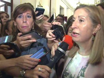 """Ana Pastor: """"La Mesa del Congreso de los diputados no permite y no admite las presiones"""""""