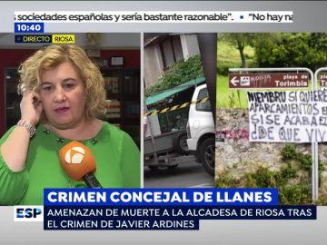 """Las amenazas de muerte a la alcaldesa de Riosa tras el crimen de Javier Ardines: """"Lo que le pasó no es nada comparado con lo que te va a pasar a ti"""""""