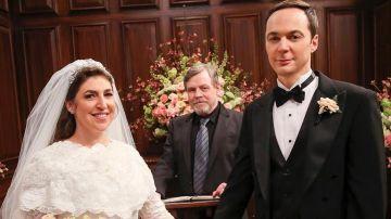 La boda de Amy y Sheldon