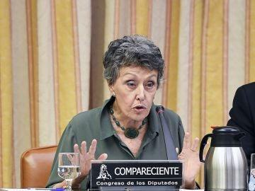 La administradora provisional única de la corporación RTVE, Rosa María Mateo