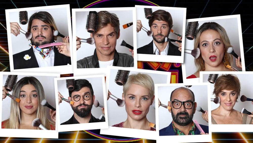 Los concursantes de 'Tu cara me suena' se preparan para el estreno de este viernes en Antena 3