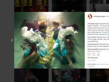 Fotografías convertidas en pinturas barrocas