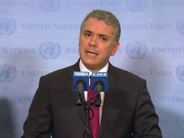 """Presidente colombiano pide un """"cerco diplomático"""" para terminar con la """"dictadura"""" de Maduro"""