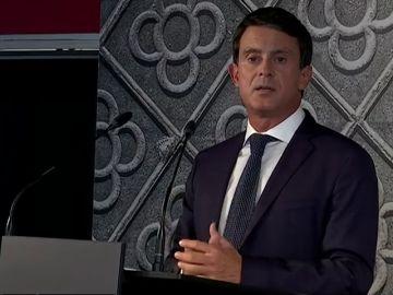 """Manuel Valls hace oficial su candidatura a las municipales de 2019: """"Quiero ser el próximo alcalde de Barcelona"""""""
