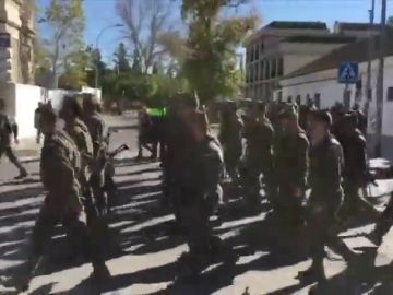 La Fiscalía no ve delito en el himno machista de la Legión
