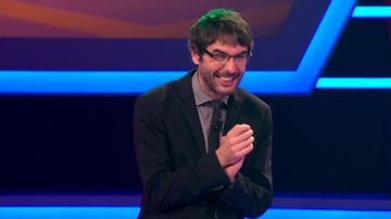 Una concursante con barba desata la risa en el plató de '¡Boom!'