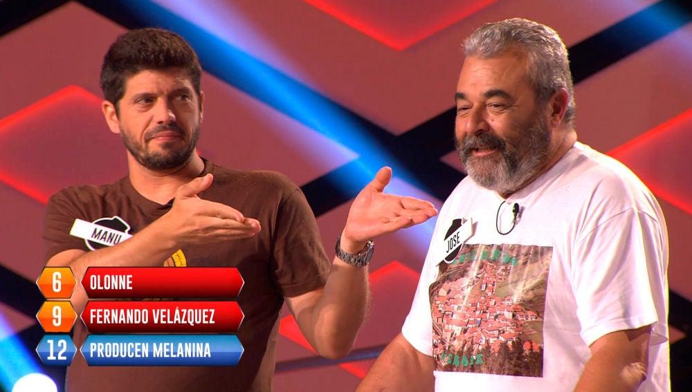 Manu y Jose, eliminados en la bomba final de '¡Boom!'