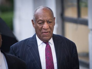 Bill Cosby a su llegada al tribunal local de Norristown