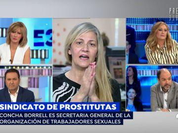 """Concha Borell, sobre el sindicato de prostitutas: """"Llevo 12 años como prostituta y no me falta ni una uña del pie"""""""