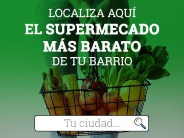 Escribe tu dirección y encuentra el supermercado de tu barrio más barato en un clic: puedes ahorrar hasta 3.000 euros al año