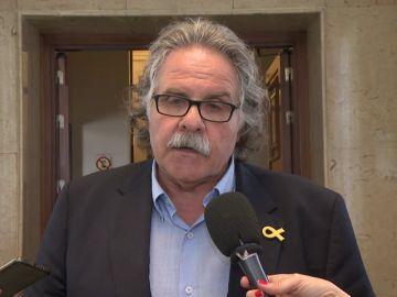 """Tardà, sobre la negociación de los Presupuestos: """"No se puede negociar teniendo una silla en la Moncloa y la otra en la cárcel"""""""