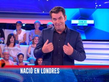 El lapsus de Arturo Valls en '¡Ahora Caigo!'