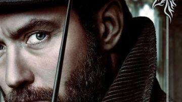 Jude Law como Dumbledore en 'Animales Fantásticos: Los crímenes de Grindelwald'