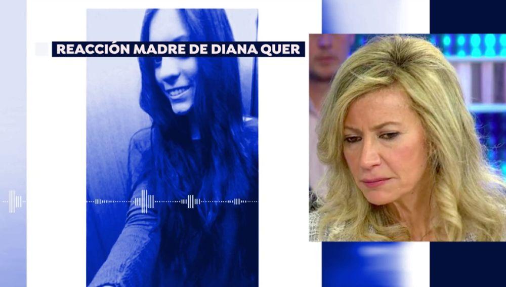 """La madre de Diana Quer, sobre 'el Chicle': """"Sigo teniendo fe de que este señor no volverá a pisar la calle"""""""