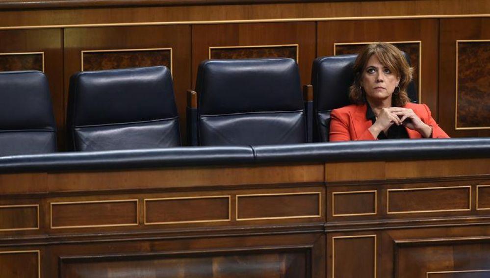 Dolores Delgado, en el Congreso