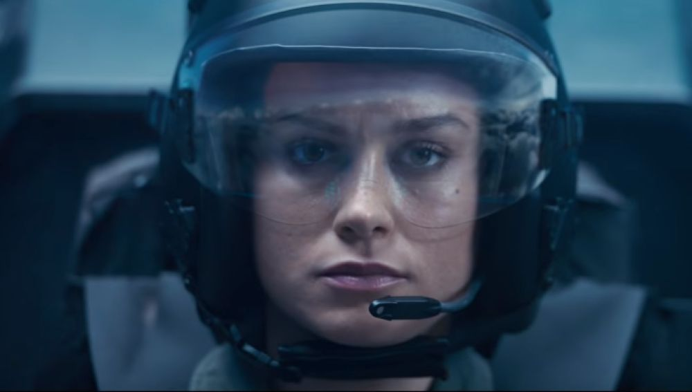 Brie Larson en 'Capitana Marvel'