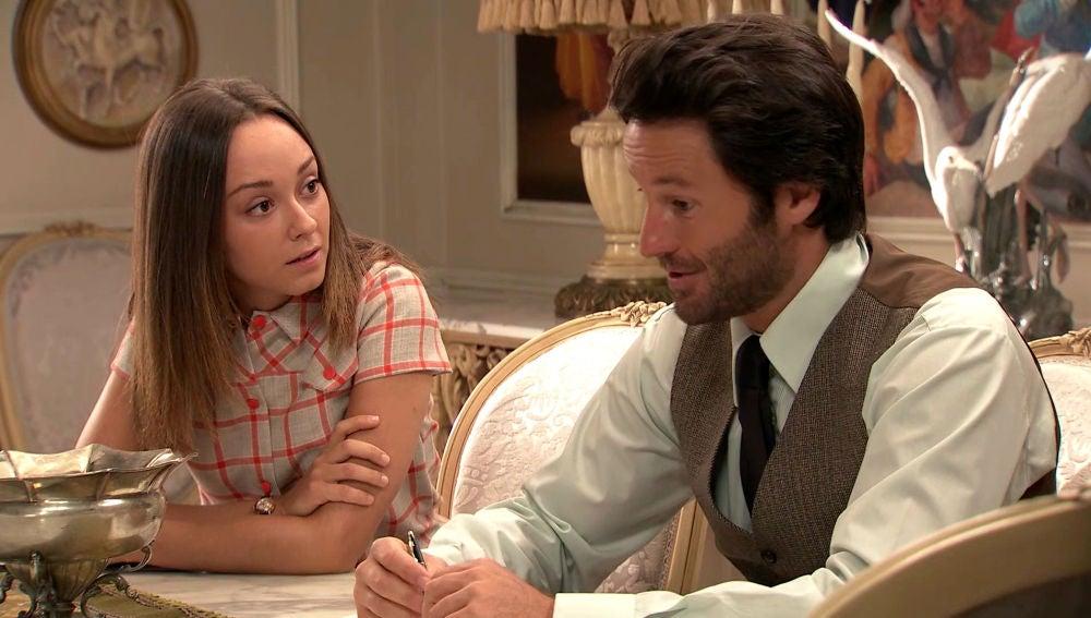 Mónica hace plantearse a Gabriel un drástico cambio de vida