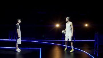 Sergio Llull vs Arkano: concurso de triples e improvisación en el reto definitivo
